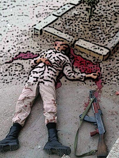 خودکشی تکان دهنده سرباز در خاش همه را شوکه کرد (عکس)