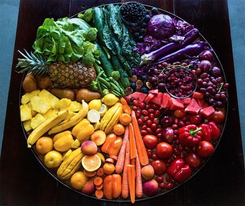 رنگ غذاها سلامتی شما را تضمین میکنند!!