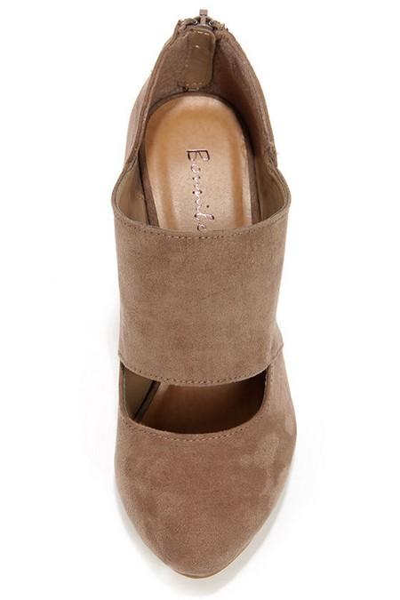 عکس هایی از مدل کفش پاشنه دار قهوه ای