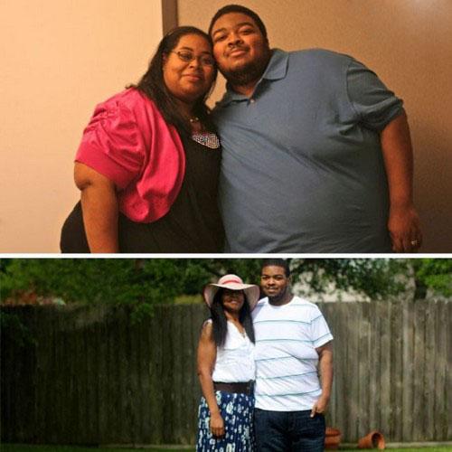 عکس هایی از لاغر شدن باورنکردنی این زن و شوهرها