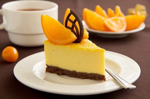 نحوه ی درست کردن چیزکیک پرتقالی
