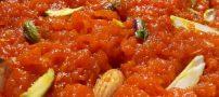 مواد لازم برای درست کردن حلوای هویج