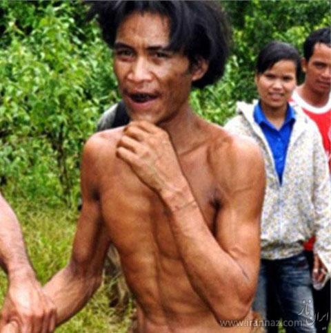 تارزان واقعی و 44 ساله در ویتنام پیدا شد! (عکس)