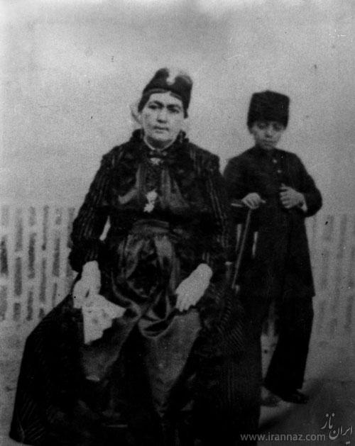 دختری خدمتکار و چاق که ملکه ایران شد +عکس