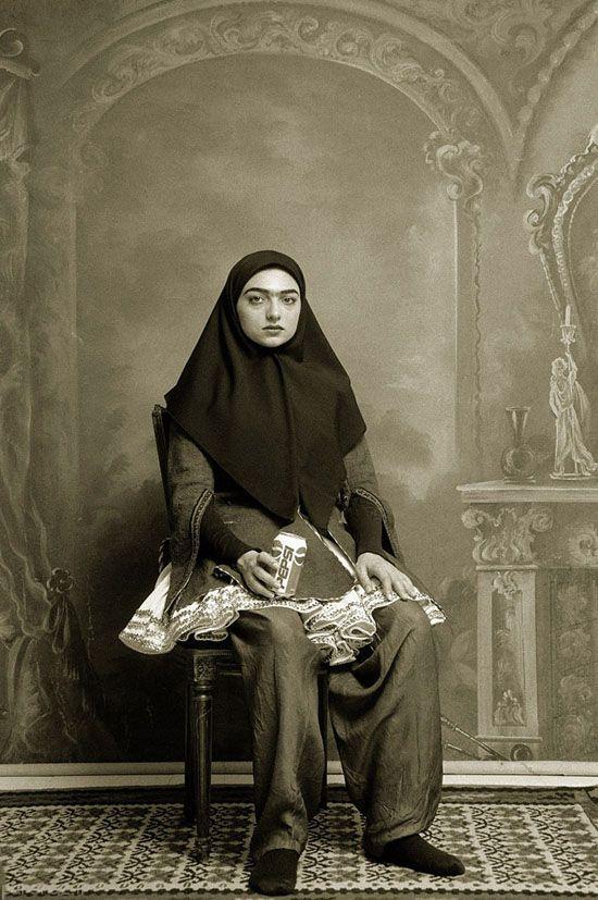 دختران خوش تیپ ایرانی در 100 سال پیش (عکس)