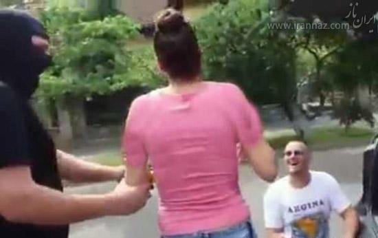 خواستگاری ترسناک دختر را در حد سکته ترساند +عکس  خواستگاری ترسناک دختر را در حد سکته ترساند +عکس 627242002 irannaz com