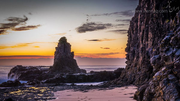 عجایب شگفت انگیز و دیدنی ساحلی دنیا +عکس