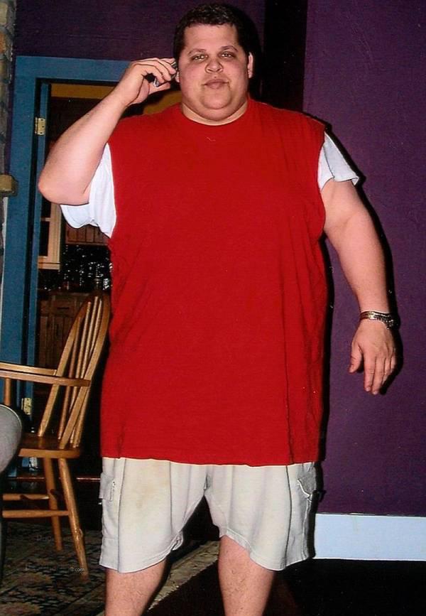 کاهش وزن باورنکردنی این مرد جوان (عکس)