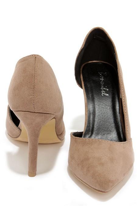 مدل کفش مجلسی شیک با تم پاشنه بلند