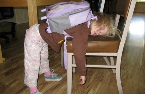 عکس های خنده دار از اولین روز مدرسه