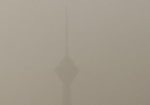 عکس های وحشتناک از طوفان شدید در تهران