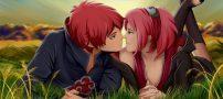 اس ام اس عاشقانه با موضوع زیبای بوسه