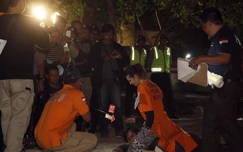 عکس هایی از بازسازی صحنه جنایت عشاق قاتل