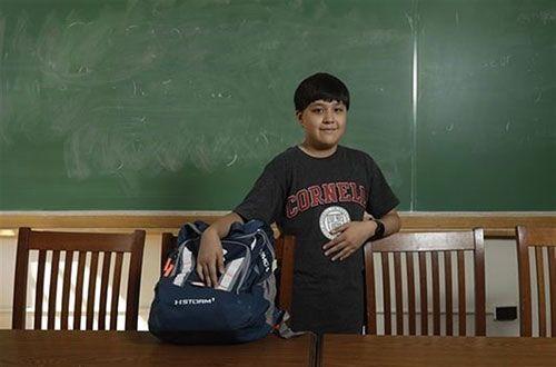 جرمی شولر جوان ترین دانشجوی آمریکا می باشد (عکس)