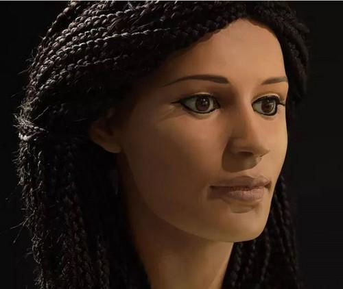 بازسازی چهره زن مصری بعد از 2300 سال (عکس)