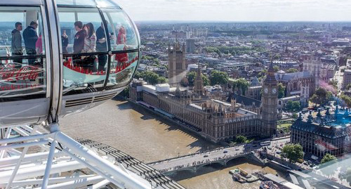 عکس هایی از زیباترین و بلندترین چرخ و فلک دنیا