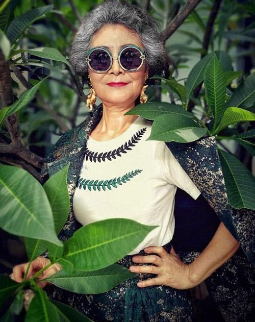 عکس هایی از مدرن ترین مادربزرگ جهان