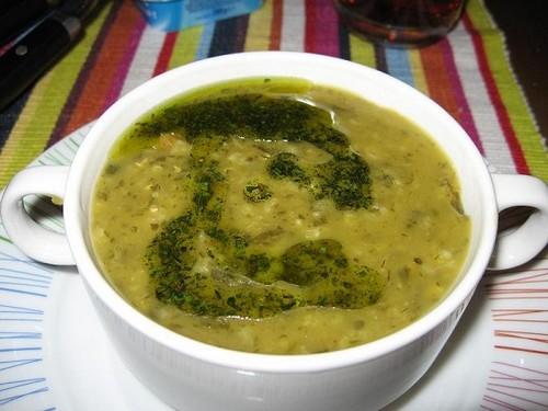 مواد لازم برای سوپ ترخینه