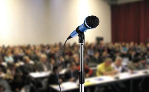 راهی برای سخنرانی آسان در جمع