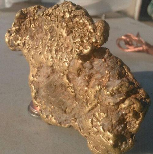 با خوش شانس ترین معدن کار دنیا آشنا شوید (عکس)