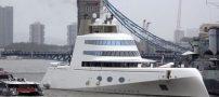 ساخت لوکس ترین قایق تفریحی دنیا (عکس)