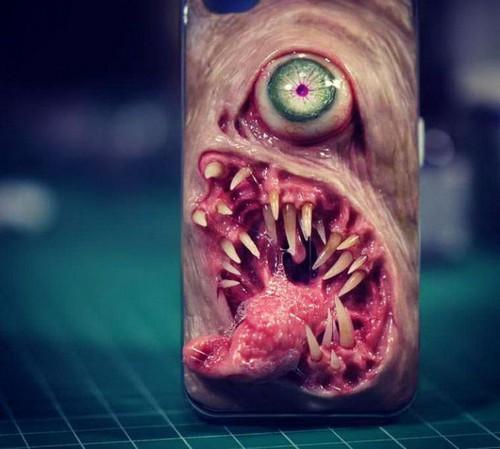 عکس هایی از وحشتناک ترین قاب های گوشی