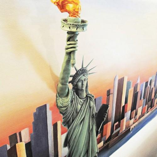 عکس های حیرت آور از طرح های سه بعدی بروی دیوار