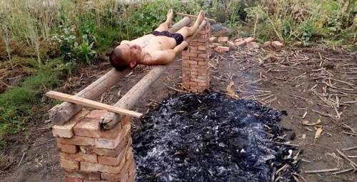 درمان سرطان با این روش بسیار وحشتناک (عکس)