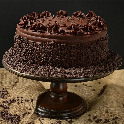مواد لازم برای درست کردن کیک شکلاتی