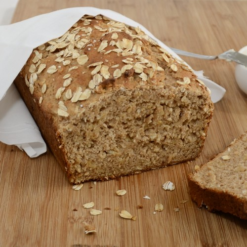 نحوه ی درست کردن نان جو رژیمی