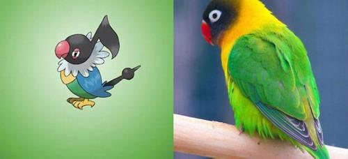 عکس هایی از شخصیت های بازی پوکمون در طبیعت