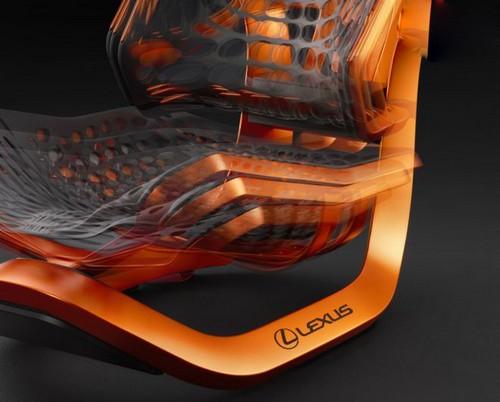 عکس هایی از مدرن ترین صندلی خودرو جهان