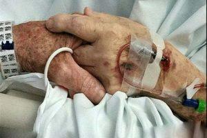 مرگ عاشقانه این زوج سالمند همه را شوکه کرد (عکس)