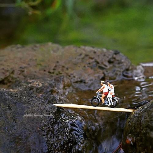 عکس هایی زیبا از خلاقیت جالب با عروسک های مینیاتوری
