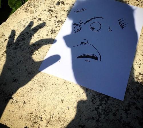 عکس هایی از هنرنمایی دیدنی با سایه ها