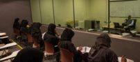 عکس باورنکردنی از یک استاد مرد در کلاس دختران دانشجو عربستان