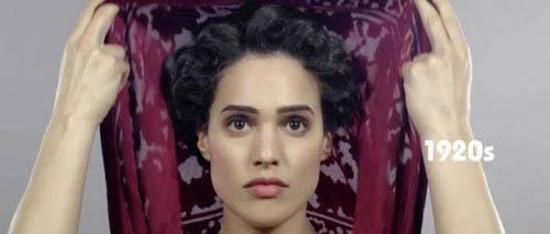 عکس هایی جالب از آرایش دختر ایرانی در طی 100 سال