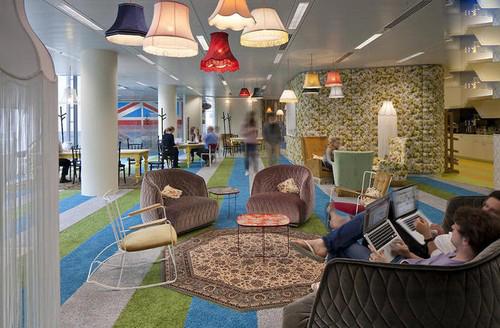 عکس های دیدنی از  از دفتر کار شرکت گوگل