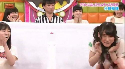 برگزاری مسابقه چندش آور توسط دختران ژاپنی (عکس)