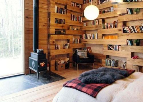 عکس های زیبا و باورنکردنی از کتابخانه جنگلی