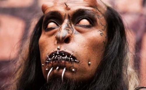 عکس هایی از وحشتناک ترین مردان جهان