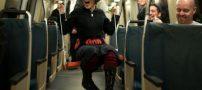 عکس های جالب و دیدنی از تاب بازی در مترو