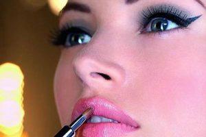 خانم های عزیز از آرایش غلیظ بپرهیزید!!