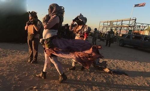 عکس هایی از بزرگترین جشنواره آخرالزمانی جهان