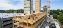 ساخت بزرگترین ساختمان چوبی دنیا در کانادا (عکس)