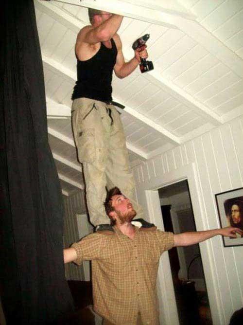 عکس های باورنکردنی از رفتارهای خطرناک مردان