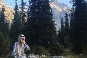 با حجاب شدن ملکه زیبایی قرقیزستان (عکس)