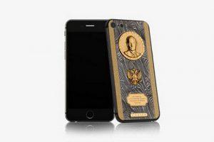 ساخت گوشی آیفون 7 لوکس برای ولادیمر پوتین