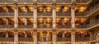 عکس های باورنکردنی از زیباترین کتابخانه دنیا در آمریکا