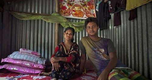 عکس های دردناک از ازدواج اجباری در بنگلادش